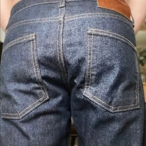 Men's blue denim pants